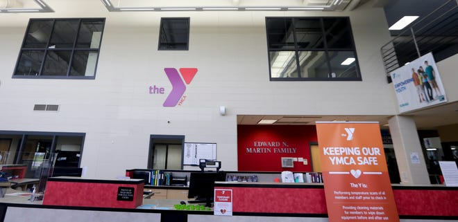 The East Side YMCA will open their doors to the public starting Monday, June 1, 2020, in Bellevue, Wis. The East, West and Broadview YMCA's will have reduced summer hours once their doors open.  Ebony Cox/USA TODAY NETWORK-Wisconsin