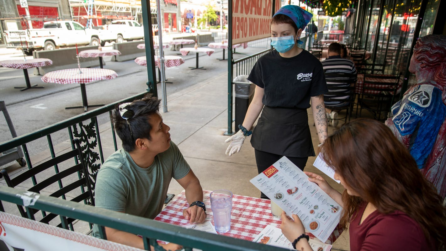 74 restaurants offering reservations via Open Table during coronavirus pandemic