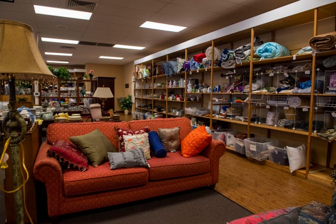 Donations have increased in recent weeks at the RIFA Thrift Store in  Jackson, Tenn.