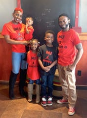 Chantell and Damian Cox are pictured with their three children. Chantell passed away unexpectedly on May 3, months before she planned to open a nonprofit mentorship, tutoring and homeless intervention program.