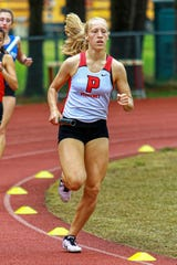 Pinckney senior Molly Bolang qualified for the state track and field meet in the 3,200-meter relay in 2019.