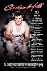 Caden Hill put together an impressive resume as a wrestler for Crestview