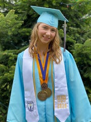 Melannie Emigh is one of the four valedictorians in the River Valley High School Class of 2020.