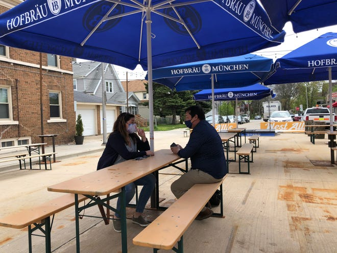 A view of the beer garden at Kegel's Inn in West Allis. The restaurant at 5901 W. National Ave. is one of 25 historic U.S. restaurants that will receive a $40,000 grant to help its operations.