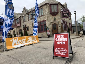 The beer garden at Kegel's Inn in West Allis is open.