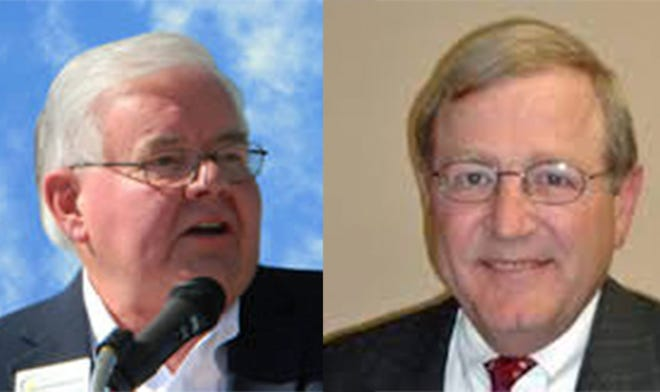 Mark Bentley, left is executive director of the Alabama Clean Fuels Coalition, and Phillip Wiedmeyer is the coalition's president.