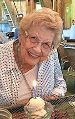 Mary Bess Lunsford's 95th Birthday