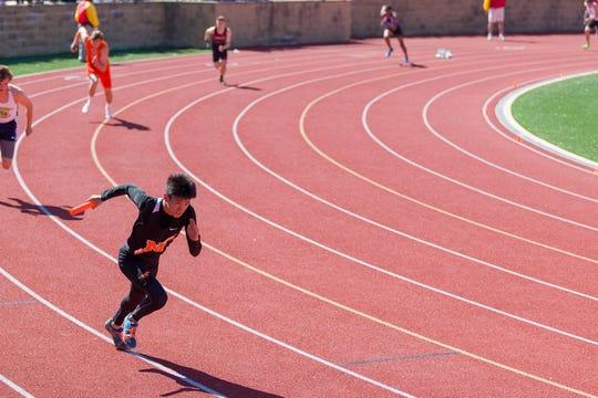 Brandon Liu was a sprinter for the Northville track team.