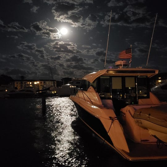 The Sea Major, owned by Valerie and Dave Mamo of Milford, set to head to Charleston, S.C.