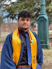 Fernando Mendivil got his nursing degree from NAU and is currently taking care of his mom, who recently got a lung transplant.