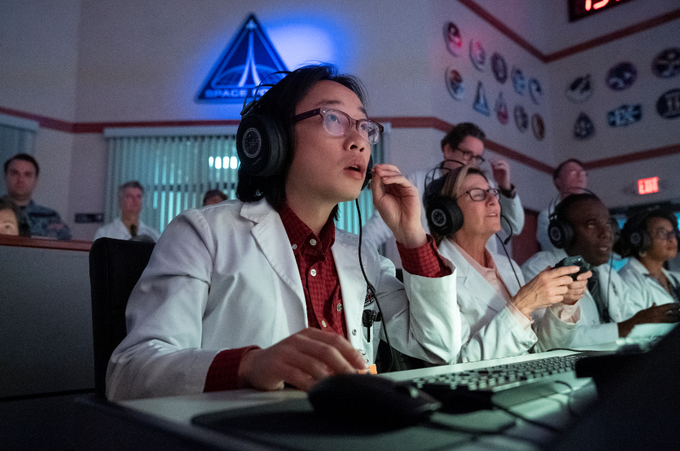 """Jimmy O. Yang in """"Space Force."""""""