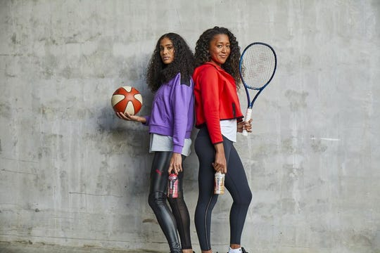 Skylar Diggins-Smith and Naomi Osaka are part of BODYARMOR's latest commercial.