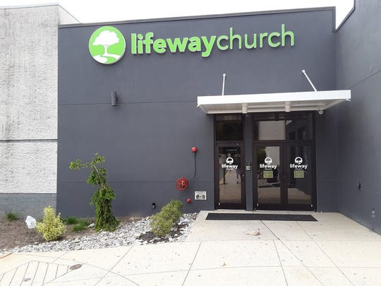 Lifeway Church, in the Lebanon Valley Mall. The church is resuming in-person services on May 31.