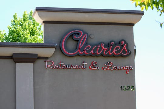 Clearie's Restaurant and Lounge stands in downtown Redding in this photo taken Friday, May 22, 2020.