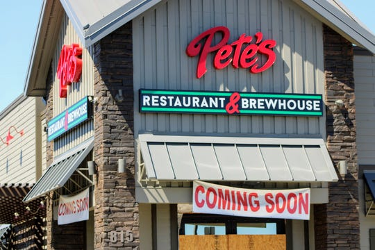 Pete's Restaurant and Brewhouse had yet to open in Redding as of Friday, May 22, 2020.