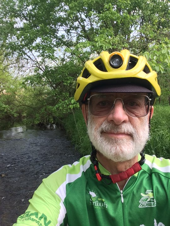 David Hutchison has been riding a bike for about 62 years.