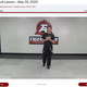 Owner Brad Fantle leading a weekly lesson within Tiger Rock Martial Arts of Tallahassee's new Online Academy.