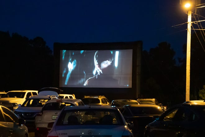 """Backwoods Crossing hosted a drive-in movie night featuring """"The Goonies"""" in May. Visit Tallahassee is presenting the the film at sunset on Friday at the Tucker Civic Center."""