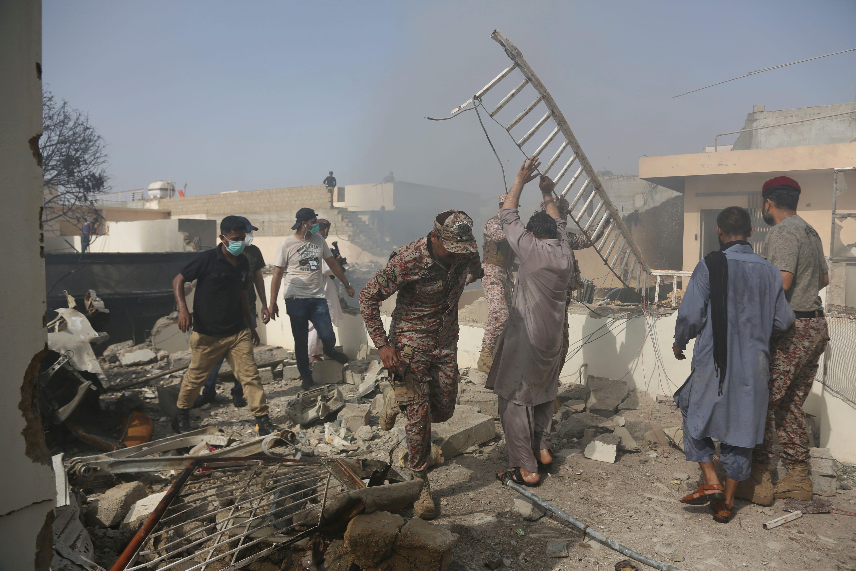 97 Passengers Crew Dead After Pakistan Plane Crash