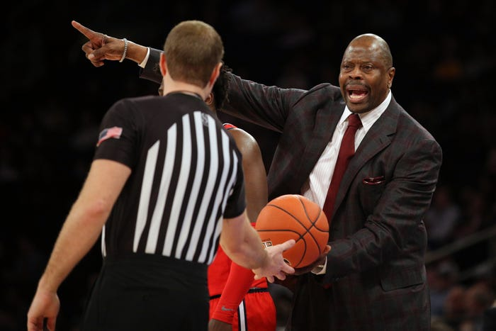 Patrick Ewing has tested positive for coronavirus, Georgetown University has announced