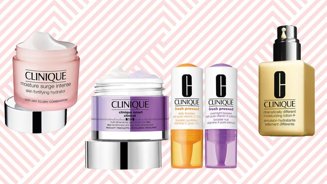 Clinique fans, now's the time to stock up on your must-haves.