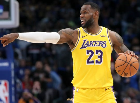 1. Los Angeles Lakers