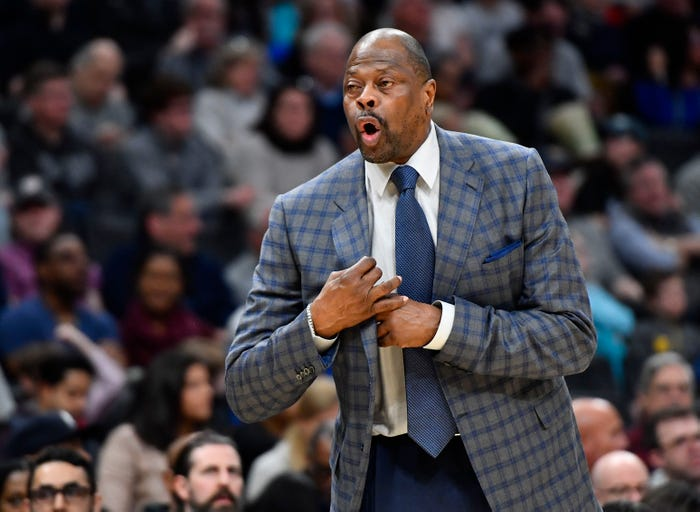 Patrick Ewing home after being hospitalized with coronavirus