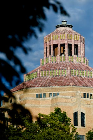 Asheville City Hall May 22, 2020.