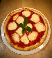 The Margherita Pizza from Villa Barone in Collingswood.