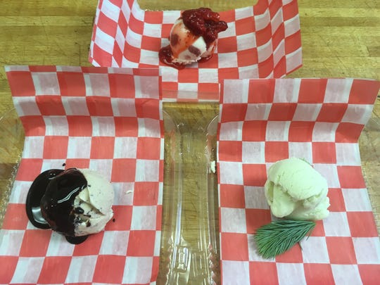 Park Place ice creams are all handmade and celebrate fresh and sometimes foraged ingredients.