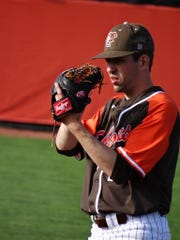 Bowling Green pitcher Jeremy Spezia played two full seasons for the Falcons and is now looking to transfer after his team was cut May 14 due to budget cuts.