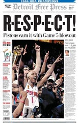 Free Press front page June 16, 2004.