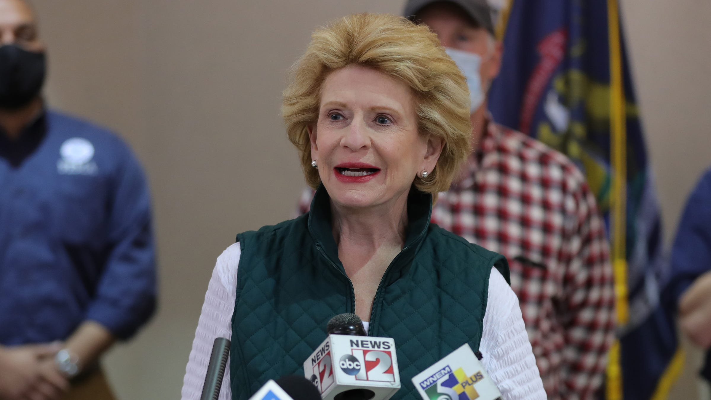 Two charged with making threats to Michigan public officials, including Debbie Stabenow