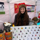 Shrinky Chains, created by Arabella Camunez, sells key chains and wine glass charms at the Las Cruces Farmers and Crafts Market.