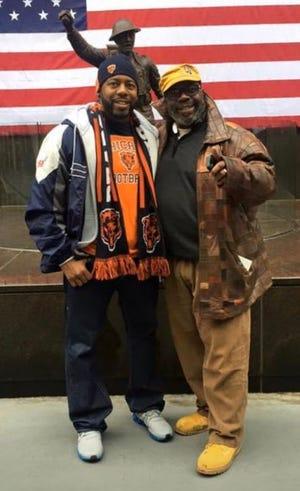 Tylon Wilson Jr. and his father, Tylon Wilson Sr.