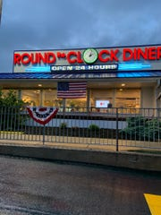 Round the Clock Diner, 222 Arsenal Road, in Manchester Township. The diner's license was suspended Friday, May 22, 2020 for violating Gov. Tom Wolf's executive order that restaurants serve food for take-out only following two warnings.