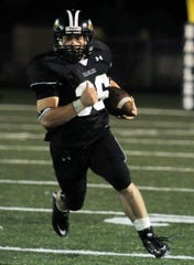 Grape Creek's Eli Untermeyer breaks a long touchdown run in a 2010 game against Alpine in which he rushed for 517 yards and six touchdowns. It was the fourth-highest single-game rushing total in the history of Texas high school football.