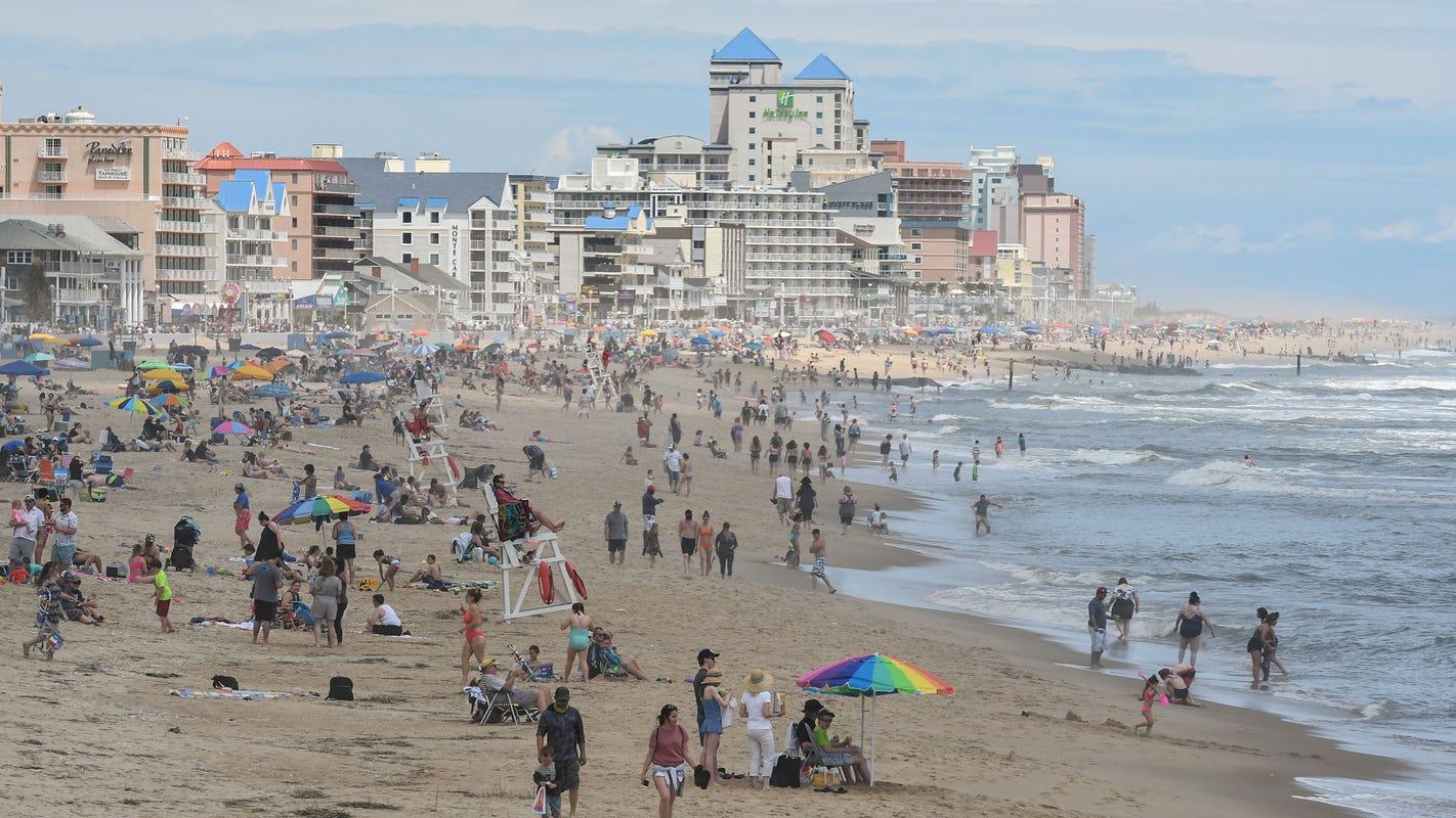 Ocean City Welcomes Beachgoers Yet