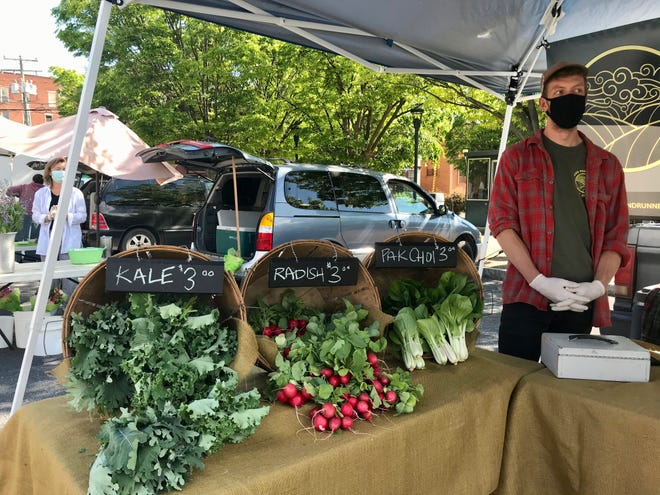 Among those Staunton City Schools will be working with to use grant money is the Staunton Farmers' Market.