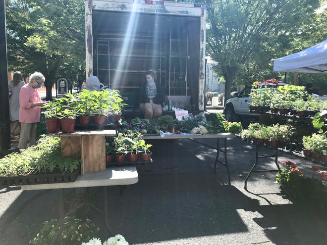 Staunton Farmer's Market reopens on Saturday, May 23, 2020 for Memorial Day weekend.