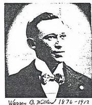 Simi Valley Constable Warren Willard is pictured in this undated photo. Retired Ventura County sheriff's Capt. Leslie Warren found out about Willard, who died in the line of duty in 1912, in her research. He was never memorialized.