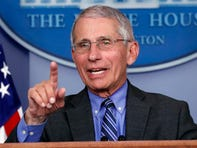 Dr. Anthony Fauci, director of the National Institute of Allergy and Infectious Diseases, speaks about the coronavirus.