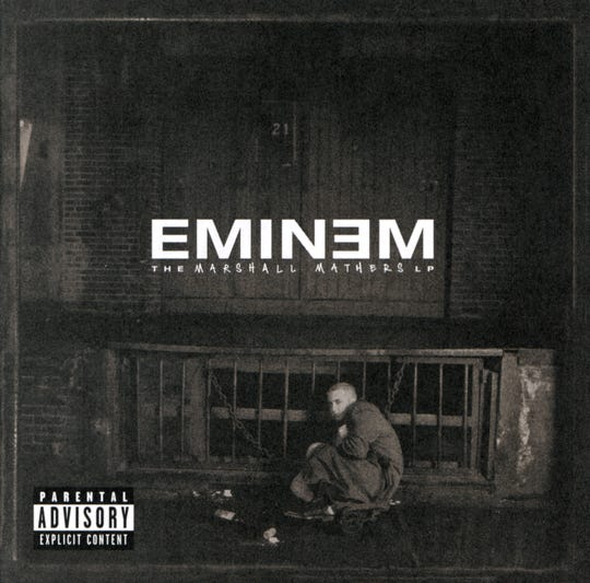 "Released on May 23, 2000, ""The Marshall Mathers LP"" was Eminem's reaction to his overnight fame and the way he was suddenly thrust into the spotlight."