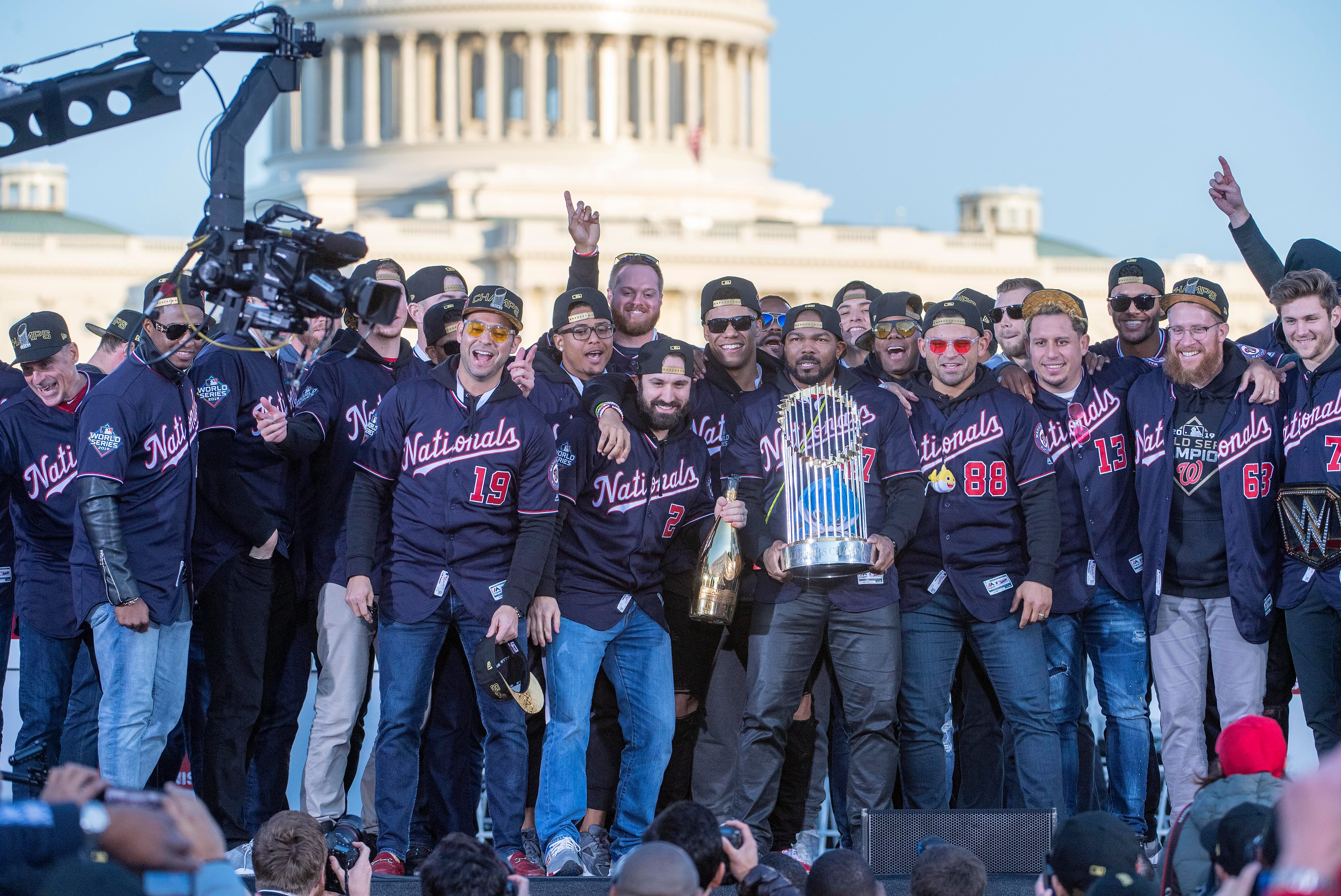 Washington Nationals postpone virtual World Series ring ceremony scheduled for Sunday