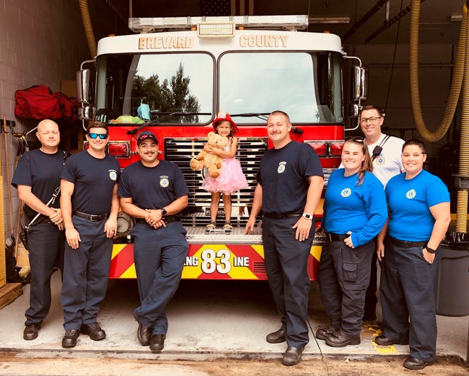 Brevard County Fire Rescue personnel removed a stuck ring from a 4-year-old West Melbourne girl's hand.