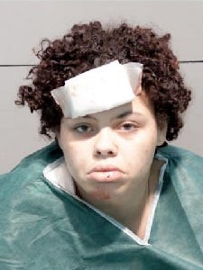 Zantea Marie Jackson-Pool, 23, of Toledo, Ohio, has been charged in a fatal car crash that killed her two-year-old daughter and her three-year-old son. Her five-year-old girl was also severely injured in the crash.