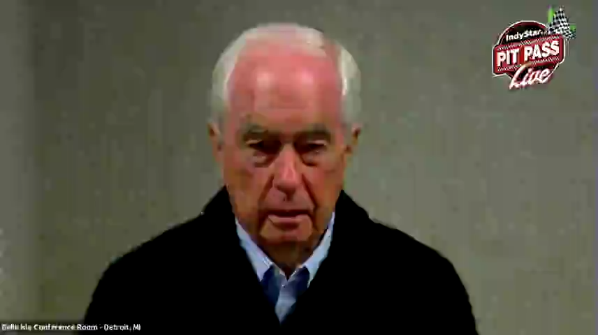 Pit Pass Live with guest Roger Penske