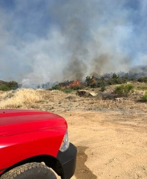Five juveniles have been charged as causing the Park Fire, which started on May 21, 2020, in the Bagdad area in Yavapai County. The juveniles were smoking nearby on state land during a fire ban, which sparked the wildfire, according to the Yavapai County Sheriff's Office.