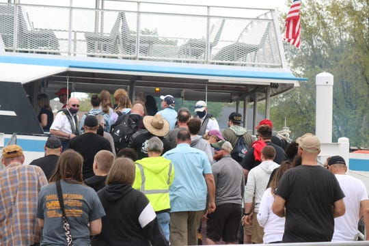 The Jet Express kicked off its season over the Memorial Day weekend and saw a high demand for trips to Put-in-Bay. The ferry service is reducing the number of passengers on each trip to promote social distancing.