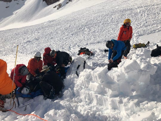 Crews rescued a climber who got lost and one who became injured during a small avalanche on Mt. Hood over Memorial Day weekend. Around 60 rescuers responded to the two emergency calls over the course of 23 hours.